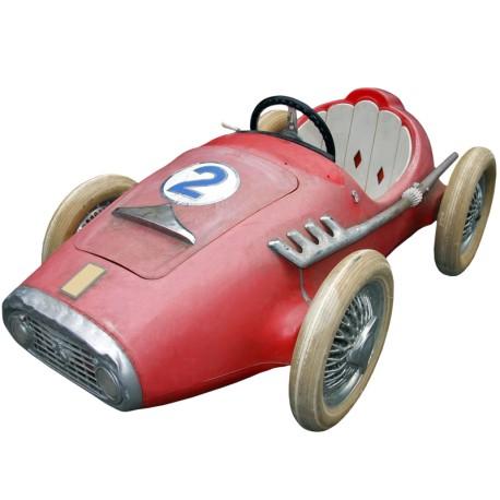 Opstrijkertje Van Een Ferrari Speelgoed Auto