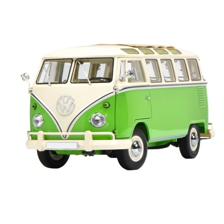 Groene VW transporter