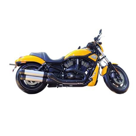 Stoere gele motor