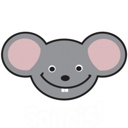 lachende muis